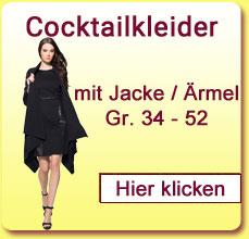 Cocktailkleider mit langen Arm oder Halbarm