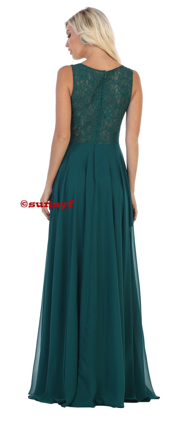Abendkleid Brautjungfernkleid Ballkleid Abiballkleid Hochzeitsgast  dunkelgrün