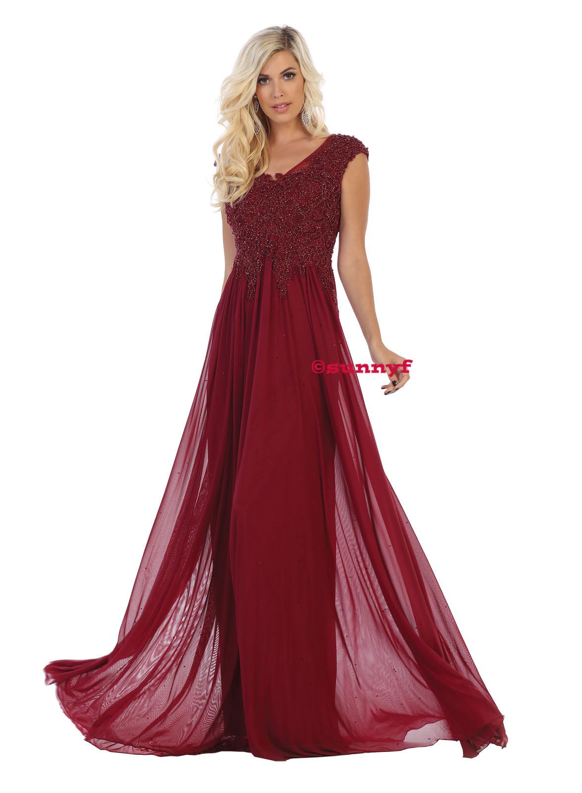 Abendkleider Abiballkleider Softtüll mit Glitzer kaschierende Kleider auch  in grosser Grösse burgunderrot