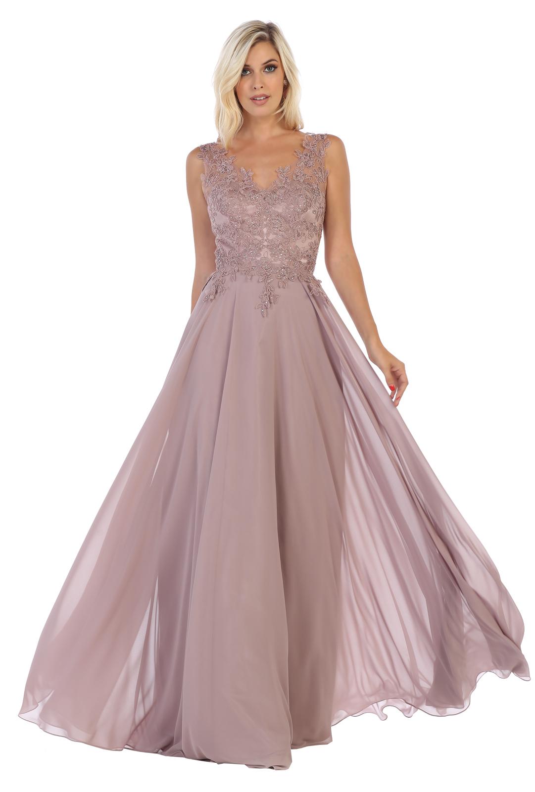 Abendkleid Glitzersteinchen Abiball Ball Hochzeit Brautjungfernkleider auch  Übergrössen