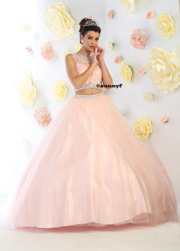 WOW Princesskleid Bauchfreikleid 2Teiler Tüllkleid Hollywoodkleid