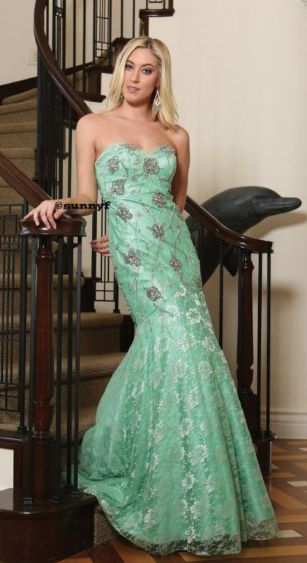 WOW Abendkleid Abiballkleid Meermaidkleid
